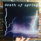 Death of Spring / For Your Health & Shin Guard (Split 12inch)