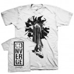 The Dusk In Us Statue - White / Converge (T-Shirt)