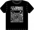空(Kuu) / Stubborn Father (T-Shirt: Black/White)