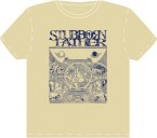 空(Kuu) / Stubborn Father (T-Shirt: Sand/Navy)