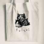 3 Cats / quiqui (Tote bag)
