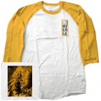 Beautiful Ruin / Converge (Baseball T-Shirt : Yellow)