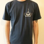 3LA NEW LOGO Blue Gray (T-Shirt)