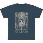 こわれはじめる / SWARRRM (T-Shirt : Blue Gray)